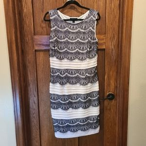 Collections Dressbarn sleeveless cocktail dress